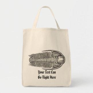 Vintage Trilobite Fossil Tote Bag
