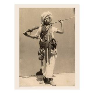 Vintage Tripoli, man from the Barbary coast Postcard