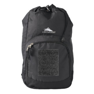 Vintage Triskle Celtic Trinity Knot Charcoal Steel Backpack