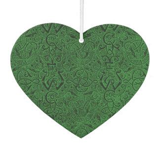 Vintage Triskle Celtic Trinity Knot Ivy Green Air Freshener