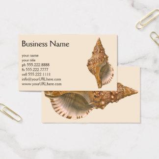 Vintage Triton Seashell Shell, Marine Ocean Animal Business Card