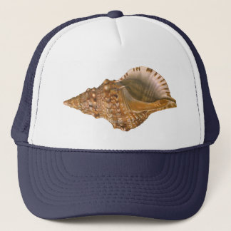 Vintage Triton Seashell Shell, Marine Ocean Animal Trucker Hat