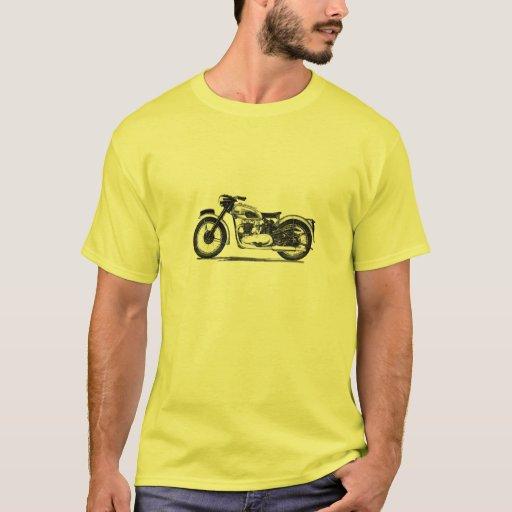 Zazzle Vintage Triumph 500 Twin T-shirt