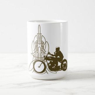 Vintage Triumph Riding Classic White Coffee Mug