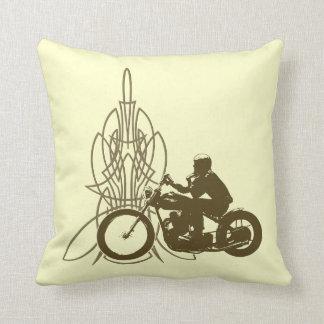 Vintage Triumph Riding Pillows