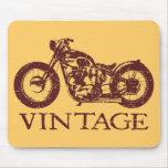 Vintage Triumph Tapete De Ratones