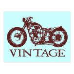 Vintage Triumph Tarjeta Postal