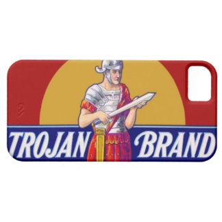 Vintage Trojan Brand Bachelor Party Gag Gift iPhone SE/5/5s Case