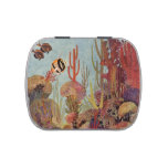 Vintage Tropical Fish and Coral in the Ocean Candy Tins