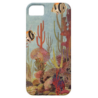 Vintage Tropical Fish and Coral in the Ocean iPhone 5 Case