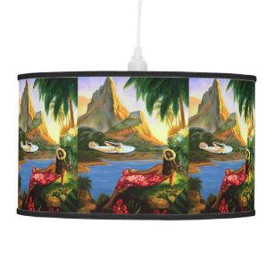 Tropical Palm Tree Table Amp Pendant Lamps Zazzle
