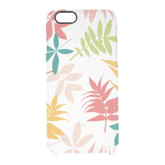 Vintage Tropical Leaves iphone6 Clear Case Uncommon Clearly™ Deflector iPhone 6 Case