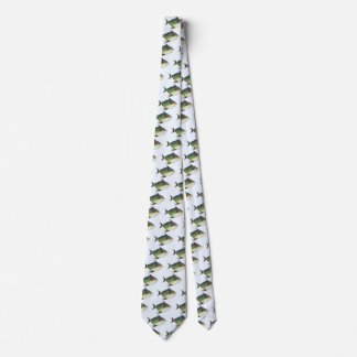 Vintage Tropical Opah Fish, Marine Aquatic Animal Neck Tie