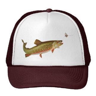 Vintage trout mesh hats