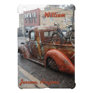 Vintage Truck and Bicycle in Jerome, Arizona Case For The iPad Mini