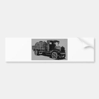 vintage truck antique look cool steampunk art bumper sticker