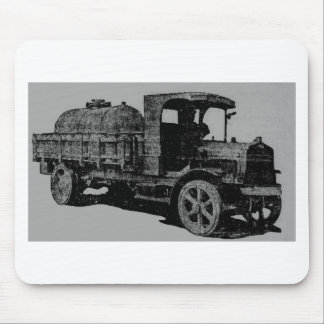 vintage truck antique look cool steampunk art mouse pad