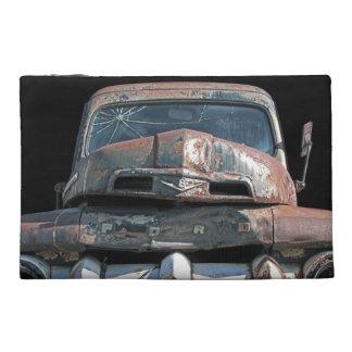 Vintage Truck Travel Accessory Bag