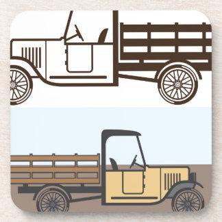 Vintage Truck Beverage Coaster