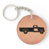 Vintage Truck Keychain
