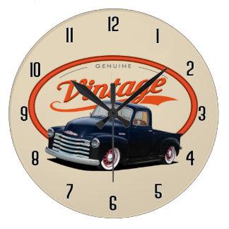 Vintage Truck Large Clock