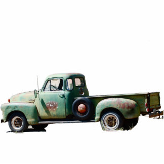 Vintage Truck Photo Sculpture