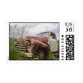 Vintage Truck Postage