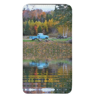 Vintage Truck Reflections Smartphone Pouch