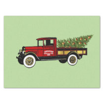 Vintage Truck Your Christmas Tree Farm Paper