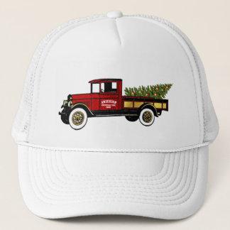 Vintage Truck Your Christmas Tree Farm Trucker Hat