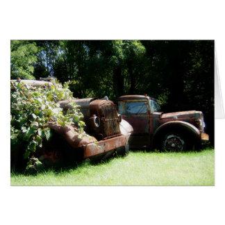 Vintage Trucks Notecard (blank)