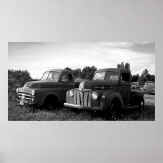 Vintage Trucks Posters