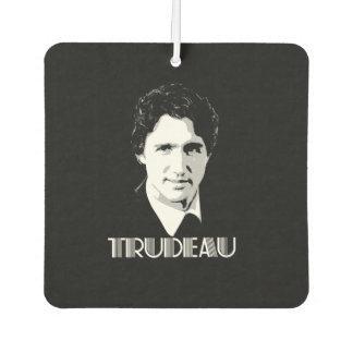 Vintage Trudeau Style -.png Car Air Freshener