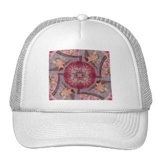 Vintage True Love Cupid On Bird Trucker Hat
