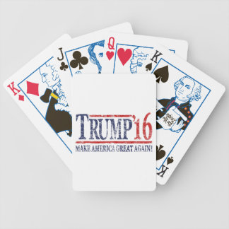 Vintage Trump 2016 'Make America Great Again' Bicycle Playing Cards