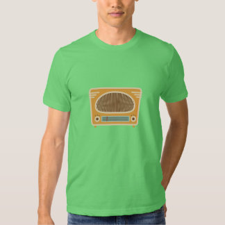 Vintage Tube Radio Collector T Shirts