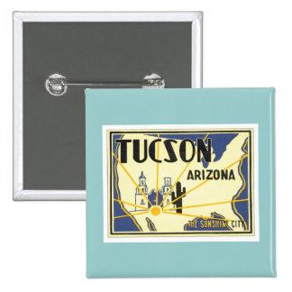 Vintage Tucson Arizona Button