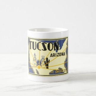 Vintage Tucson Arizona Tazas De Café