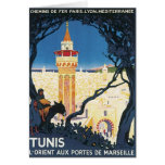 Vintage Tunis Africa Greeting Card