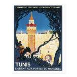Vintage Tunis Africa Post Card