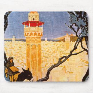 Vintage Tunis Mousepad