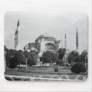 Vintage Turkey Istanbul Holy Sophie Basilica 1970 Mouse Pad