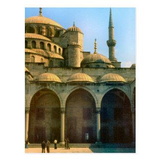 Vintage Turkey - Istanbul Mosque Postcard