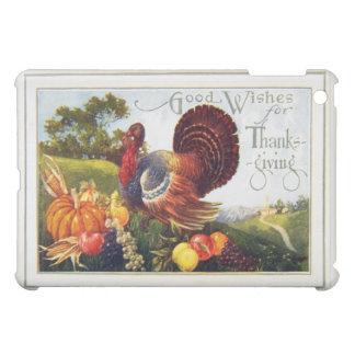 Vintage Turkey Thanksgiving iPad Mini Covers