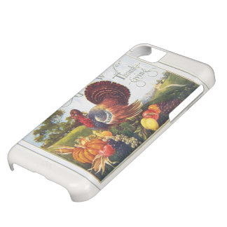 Vintage Turkey Thanksgiving iPhone 5C Cover
