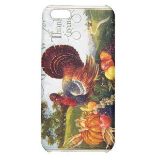 Vintage Turkey Thanksgiving Case For iPhone 5C