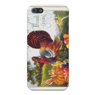 Vintage Turkey Thanksgiving iPhone SE/5/5s Case