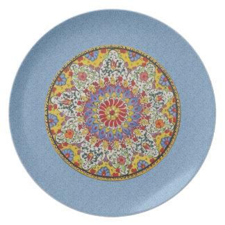 Vintage Turkish inspired Plate