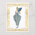 Vintage Turn of Century Fashion Vintage Art Postcard