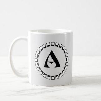 Vintage turn of the century, monogram A Coffee Mug